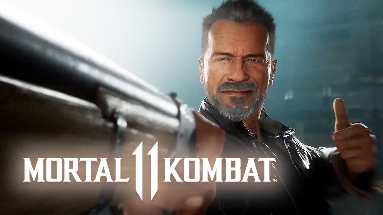 Mortal Kombat 11 - Official Terminator T-800 Gameplay Trailer