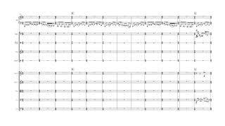 相川結月 交響曲第三番 第二楽章 (2017-2018) ピアノ以下の楽譜のみ 編...