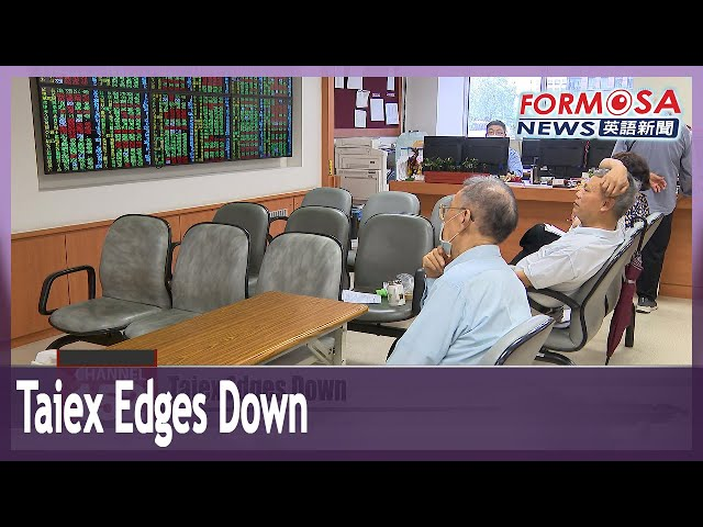 Taiex edges down amid rotational buying