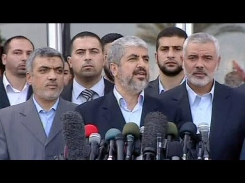 Hamas leader Khaled Meshaal visits Gaza
