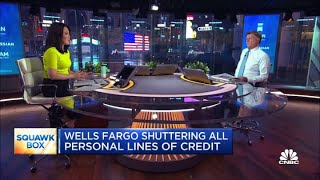 Wells Fargo shuttering all personal lines of credit