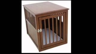 Crown Pet Products Cpp L Mah Dog Crate Table Large Mahogany