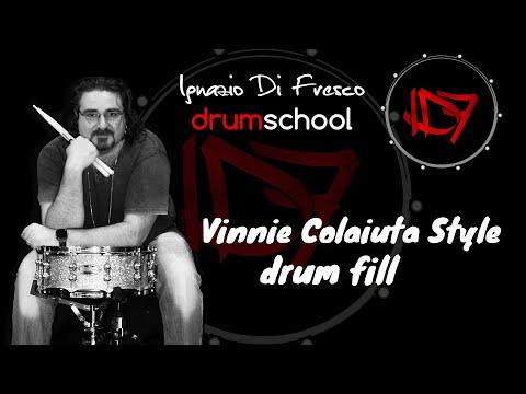 "Vinnie Colaiuta ""Backwards Rolls"" /Play Better Drums w/Ignazio Di Fresco"