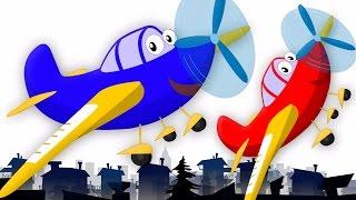 Wheels On The Plane   Nursery Rhymes   Baby Rhymes   Aeroplane Song