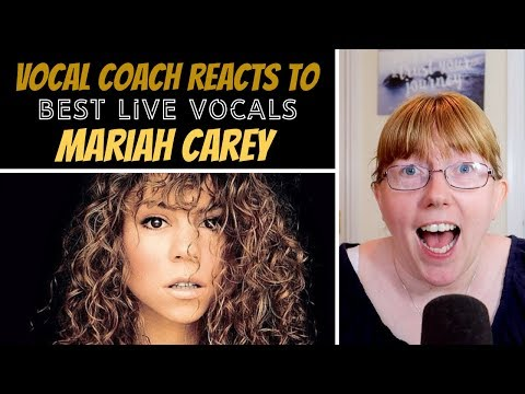 Vocal Coach Reacts To Mariah Carey Best LIVE Vocals