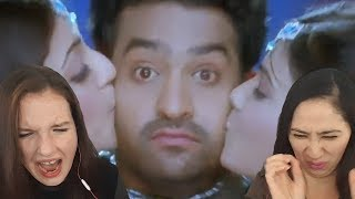 jr ntr brindavanam movie songs blu ray chinnado vaipu song kajal agarwal reaction video