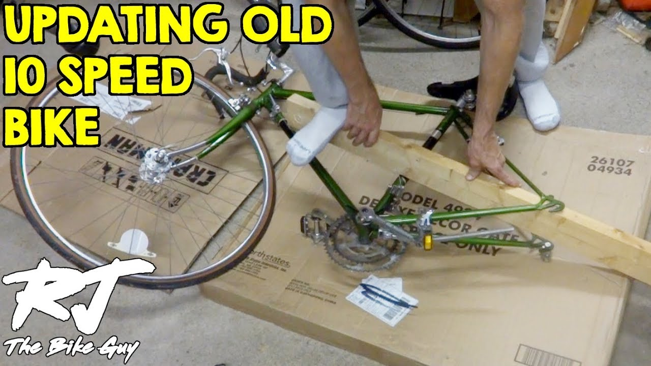 Upgrade Vintage 10 Speed Bike To 14 Speed Amp Indexed