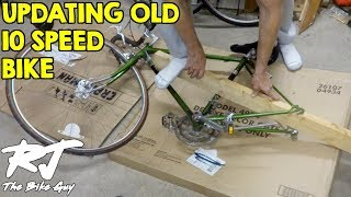 Upgrade Vintage 10 Speed Bike To 14 Speed & Indexed Shifting
