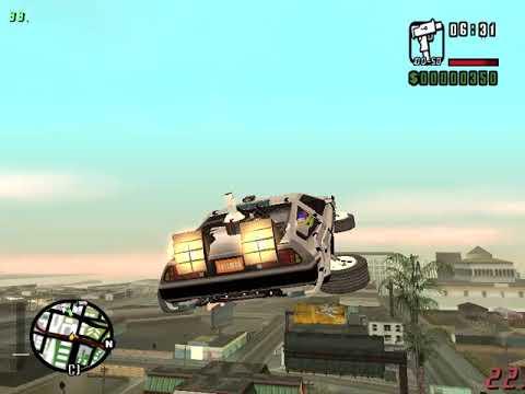 GTA  San Andreas BTTF Mod