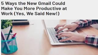 Gmail AI Smart Compose 2019 | AI Email Assistant