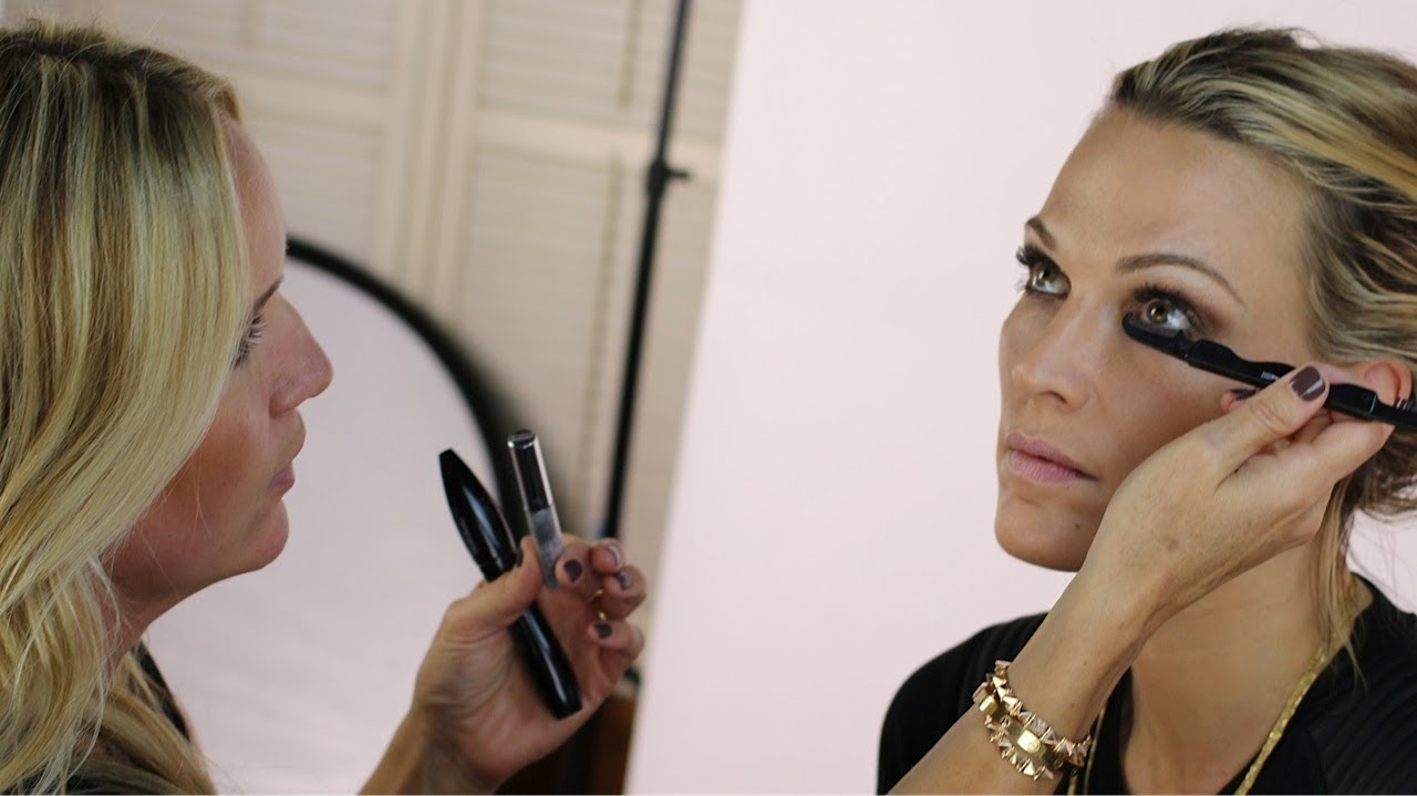 Favorite Makeup Of Molly Sims From Daytime To Nighttime Look By