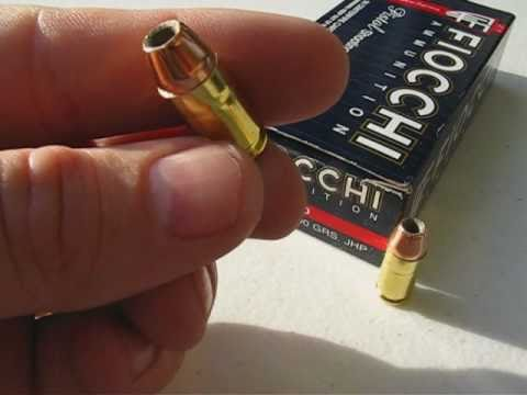 380 ACP - Fiocchi Shooting Dynamics -- 90 Gr. JHP Ammo Test