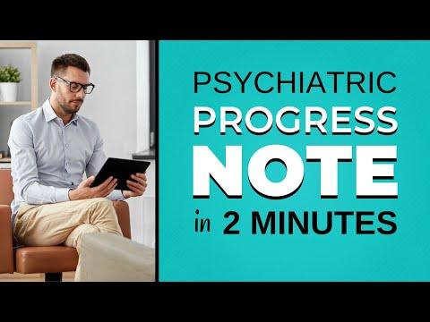 Sample Psychiatric Progress Notes | ICANotes Behavioral