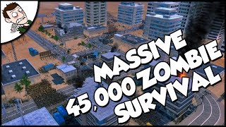 Massive 45000 US Army v Zombies - Ultimate Epic Battle Simulator Gameplay