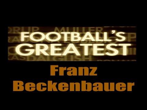 Franz Beckenbauer - Footballs Greatest - Best Players in the World ✔