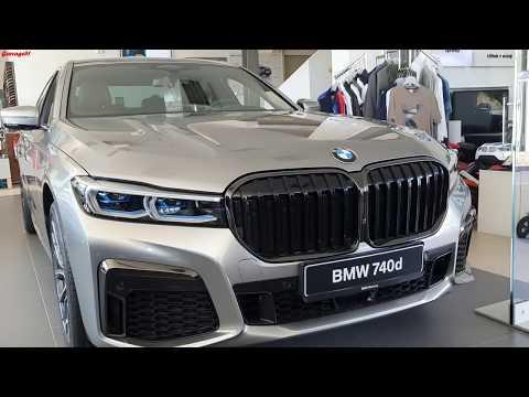 2019 BMW 740d XDrive Facelift | ENGINE SOUND |