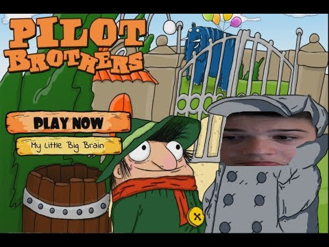 Playing russian logic game Pilot Brothers |