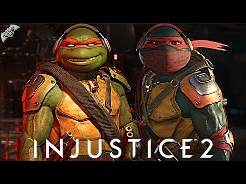 Injustice 2 Online - AWESOME NINJA TURTLES COMBOS!