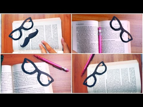 Glasses Bookmark | DIY (Easy)