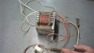 видео Сварка медных проводов