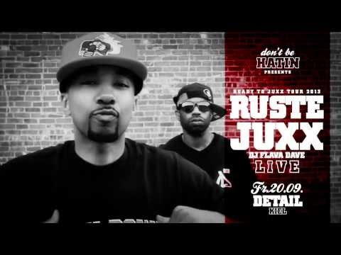 RUSTE JUXX LIVE 20.09. DETAIL // Kiel // Support: Raplight