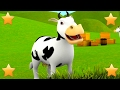 The Farmer In The Dell | 3d Kids Nursery Rhymes Songs Compilation | Baby Song By Little Treehouse video