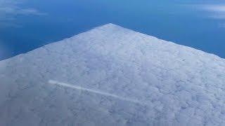 Огромный прозрачный объект закрыл половину неба над США