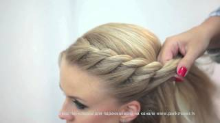 Repeat youtube video Мастер-класс «Техника плетения кос» How to do braiding