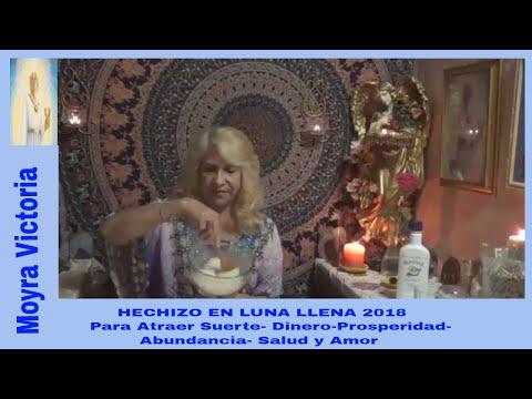 HECHIZO- EN LUNA LLENA 9/ 2018- Para Atraer Suerte- Dinero- Prosperidad- Abundancia- Salud Y Amor  .