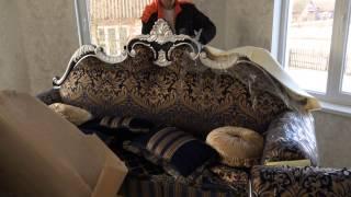 Мебель из Китая - Диван и кресло(Заказ и доставка мебели из Китая в Беларусь., 2015-04-03T09:48:19.000Z)