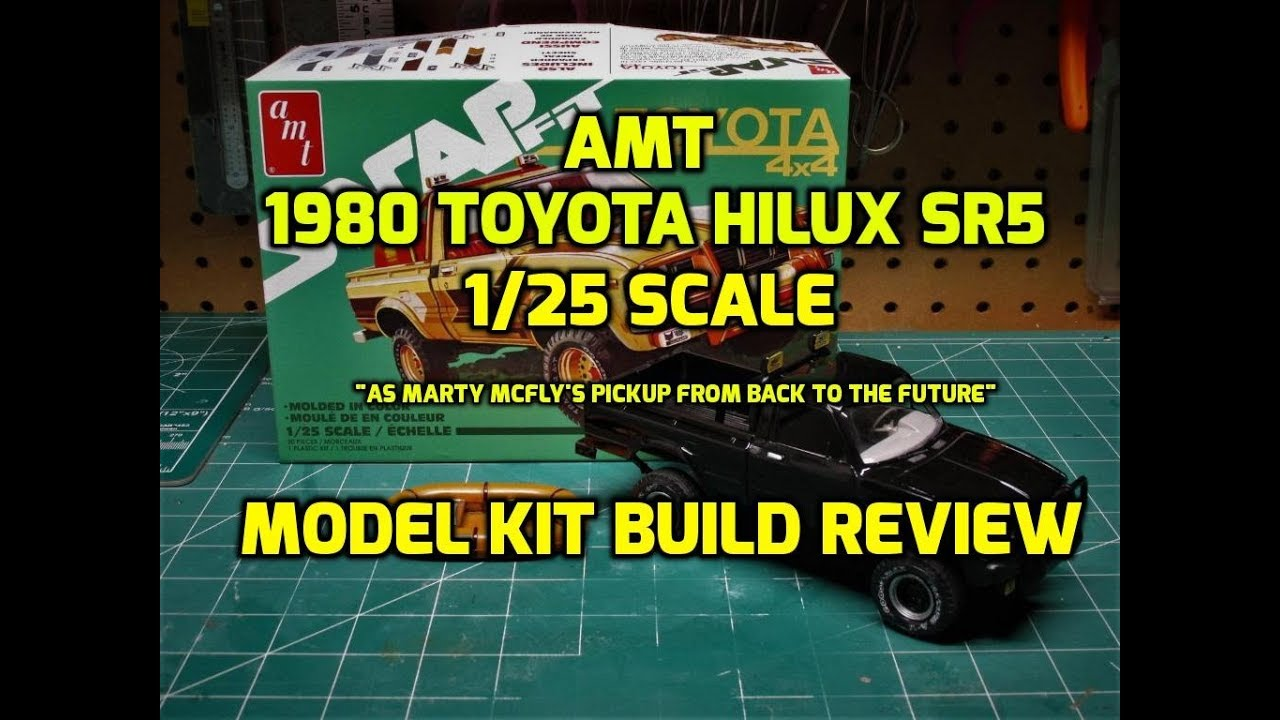 Toyota Build And Price >> AMT 1980 Toyota Hilux SR5 Pickup 1/25 Scale Model Kit ...
