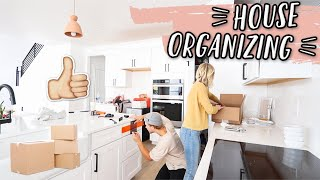 HOUSE ORGANIZING + IKEA CLOSET SHOPPING! MOVING VLOGS!