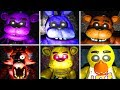 FNAF 1 Free Roam ALL JUMPSCARES!!.. Five Nights At Freddy's 3D 2017