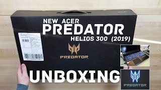 NEW Acer Helios 300 2019 | Unboxing and First Impressions