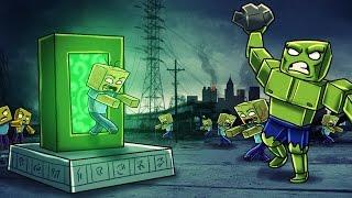 Minecraft - How to Make a Portal to the ZOMBIE APOCALYPSE! (Minecraft Zombie Dimension)