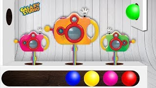 Learning Colors for Children with Camera Xylophone Toy Set & Finger Family Nursery Rhymes Songs