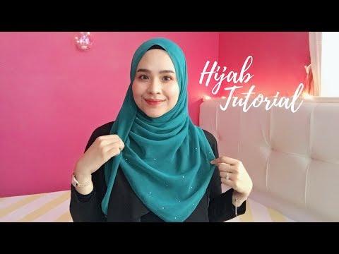 HIJAB TUTORIAL | Bawal ala Shawl