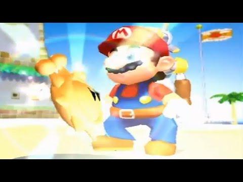 Super Mario Sunshine - All Delfino Plaza Shines