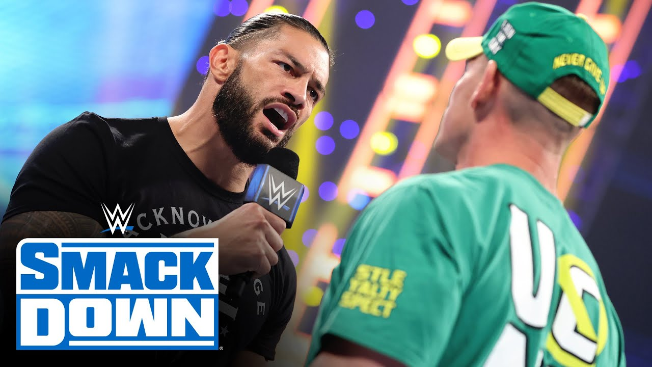 Download Roman Reigns raises the stakes in his SummerSlam showdown with John Cena: SmackDown, Aug. 20, 2021