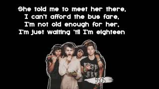 Download 5 Seconds of Summer - 18 (Offical Lyrics ) MP3 song and Music Video