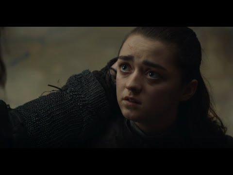 Прощание Арьи Старк и Сандора Клигана - Игра престолов