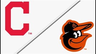 Cleveland Indians vs Baltimore Orioles    Full Game Highlights   4/22/18