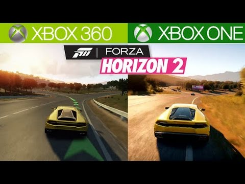 forza horizon 2 xbox 360 vs xbox one graphics comparison youtube. Black Bedroom Furniture Sets. Home Design Ideas