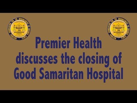 Dayton Unit NAACP President's Briefing On Good Samaritan Closing Feb  10, 2018 1
