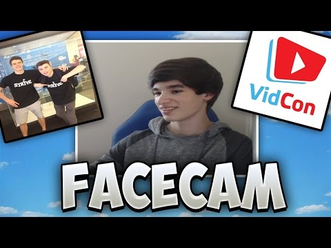 My First Facecam Video, Meeting Rusher IRL, Vidcon Plans, Charity Livestream