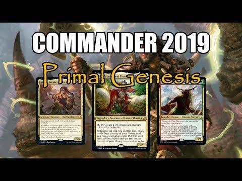 Commander 2019 Spoilers! Primal Genesis Commander Options