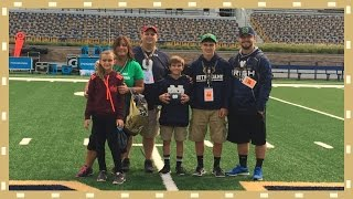 KIDS FIRST NOTRE DAME FOOTBALL GAME!
