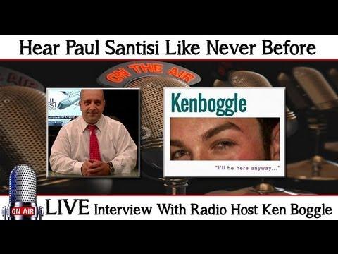 Paul Santisi LIVE Interview On Ken Boggle Radio Luck Success Health Meditation Secrets Revealed