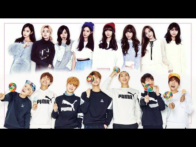 [BTS x SNSD] - Bts cover Snsd