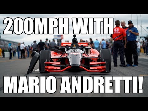 I Went 200MPH In A Honda Indy Car!